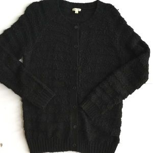 Black cardigan sweater Urban Outfitters womens M